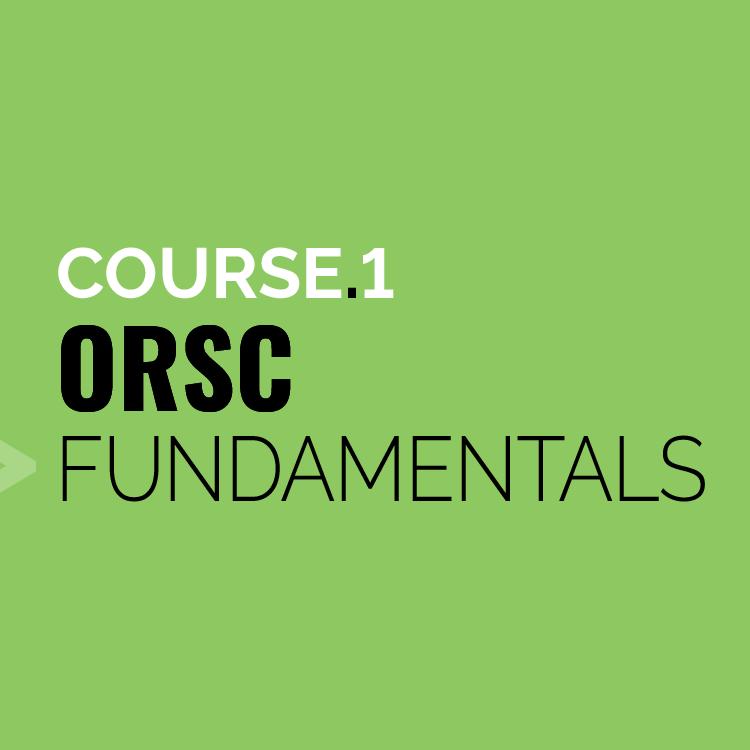 ORSC Fundamentals   CRR Canada