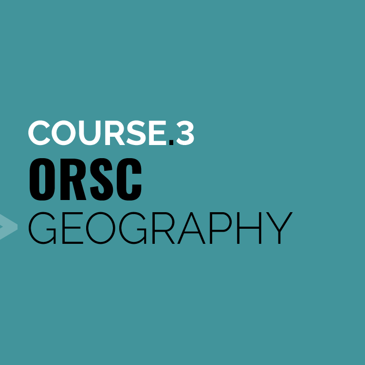 Module 3 ORSC Geography   CRR Canada