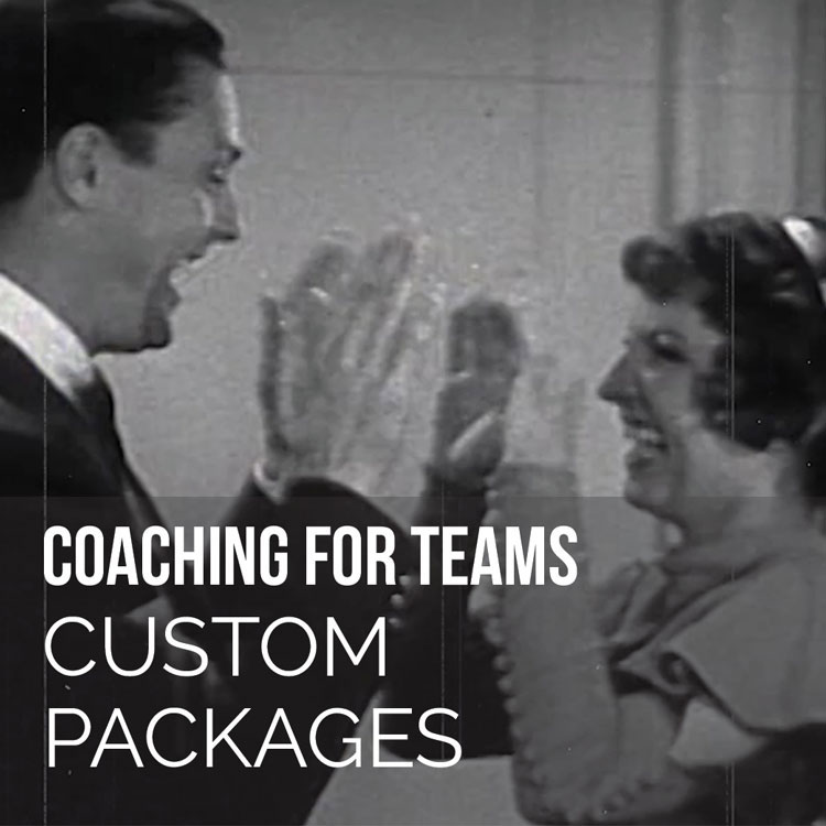 Couple playing pattycake Coaching for Teams Custom Packages