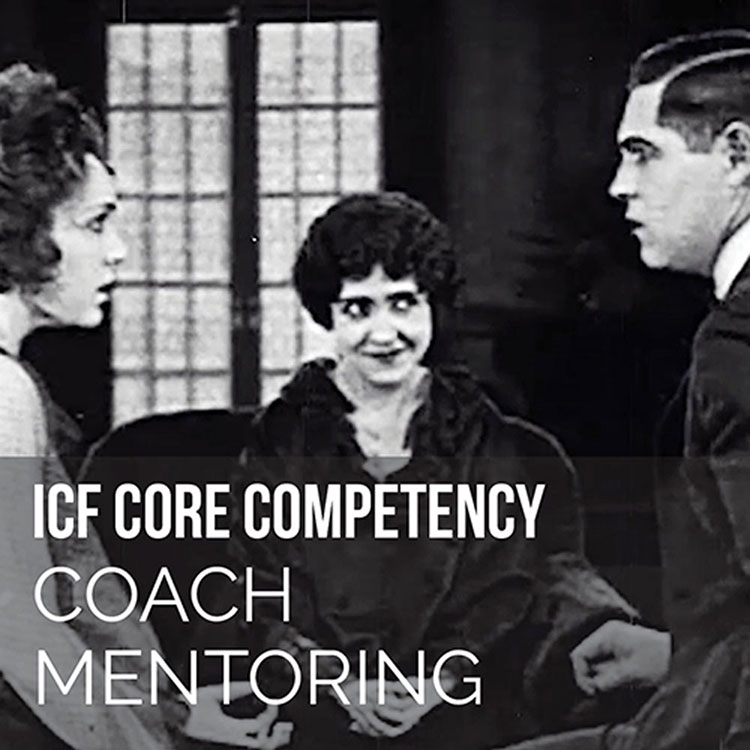 woman watching two people look at each other in amazement icf core competencies coach mentoring clip All Dolled Up 1921